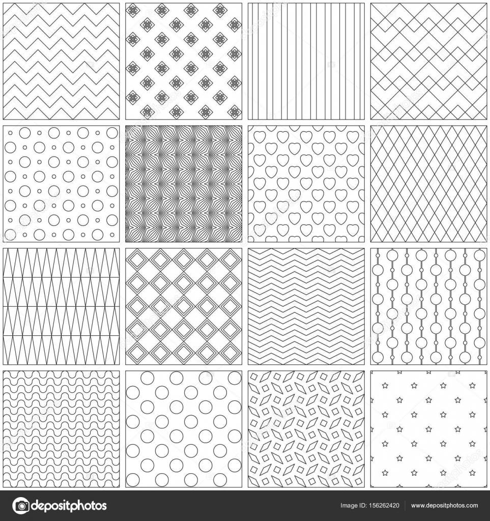 Diseño de páginas para libros para colorear. Ilustración de vector ...