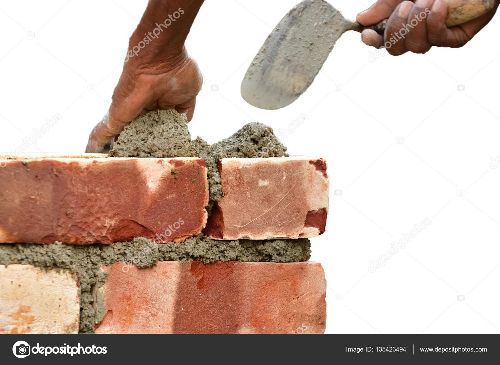 Costruire Un Muro Di Mattoni Foto Stock Sbhaumik 135423494