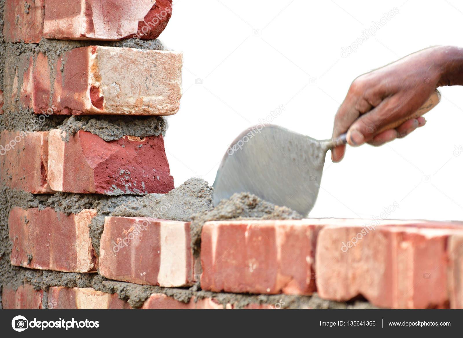 bauen sie eine mauer — stockfoto © sbhaumik #135641366