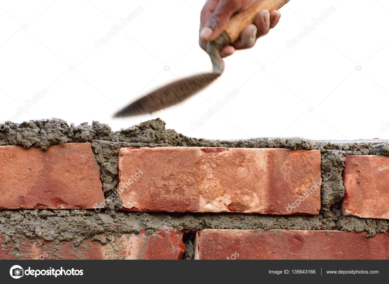 Costruire Un Muro Di Mattoni Foto Stock Sbhaumik 135643166