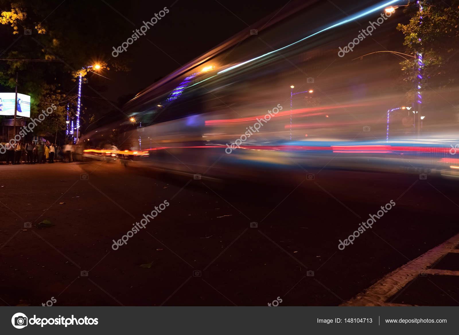Long Exposure Car Light Stock Photo C Sbhaumik 148104713