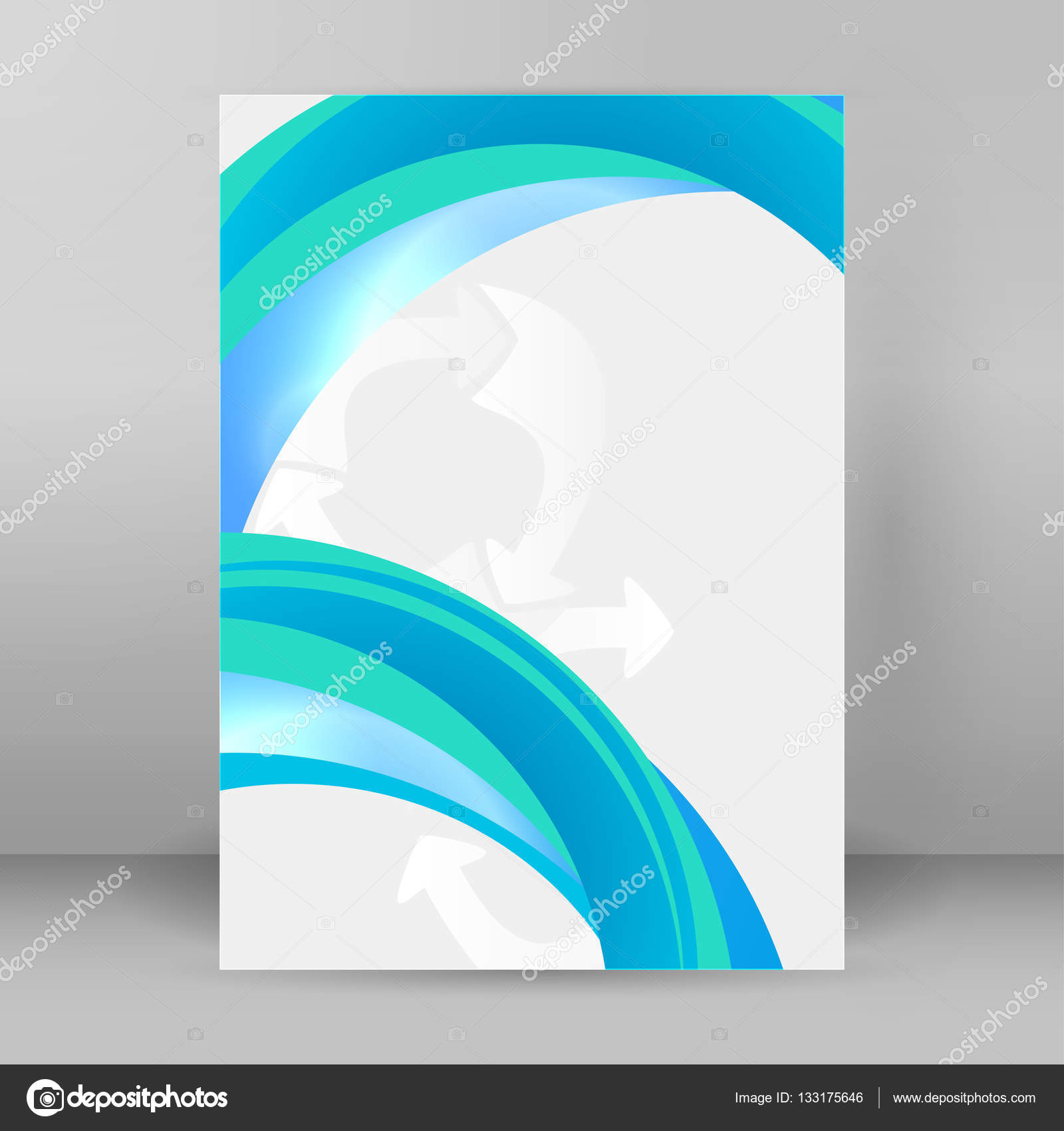 vector illustration eps 10 for business workflow layout web banner template page magazine brochure design elements vector by silvercircle