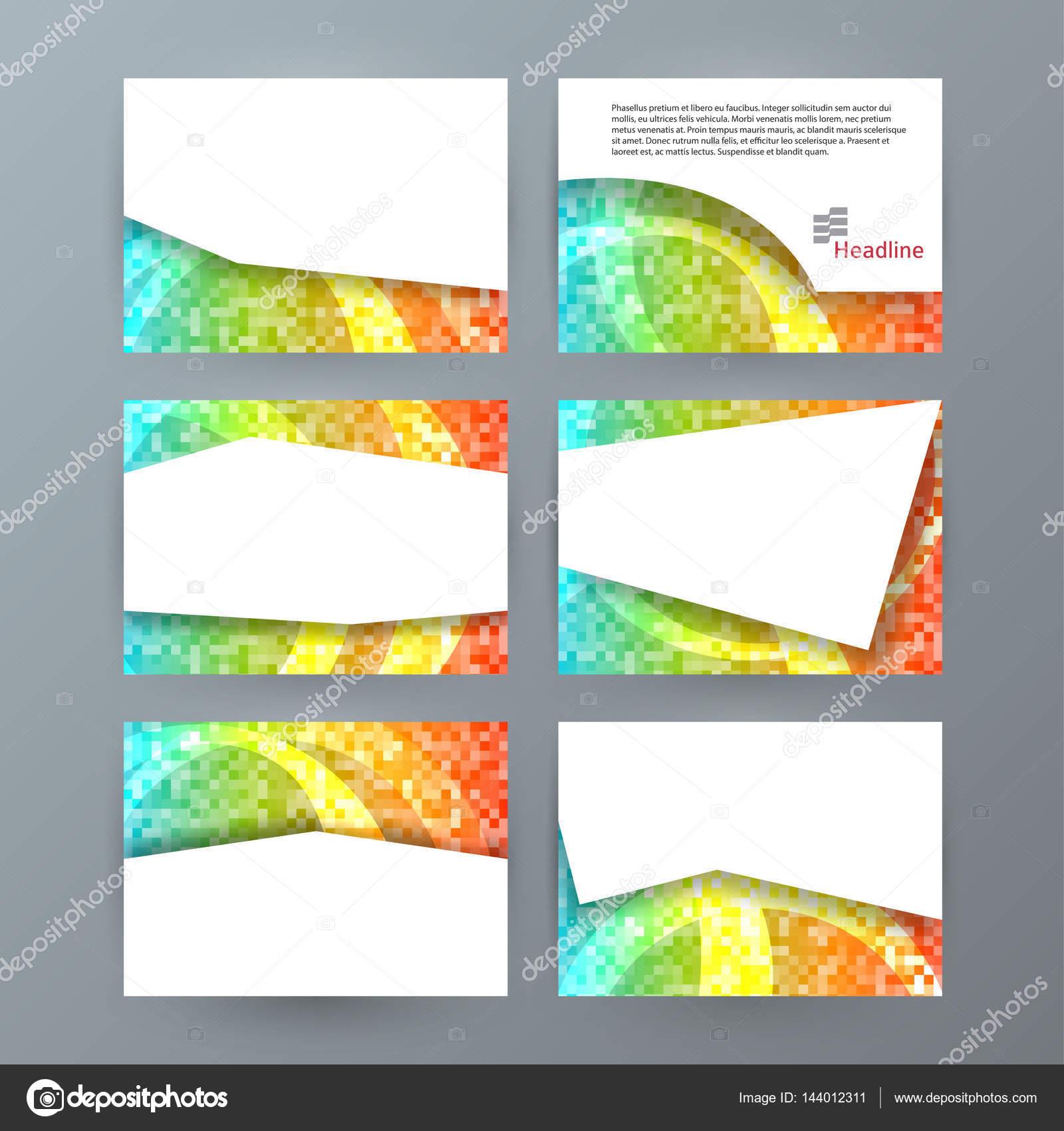 Set plantillas presentación horizontal folleto powerpoint slide0 ...
