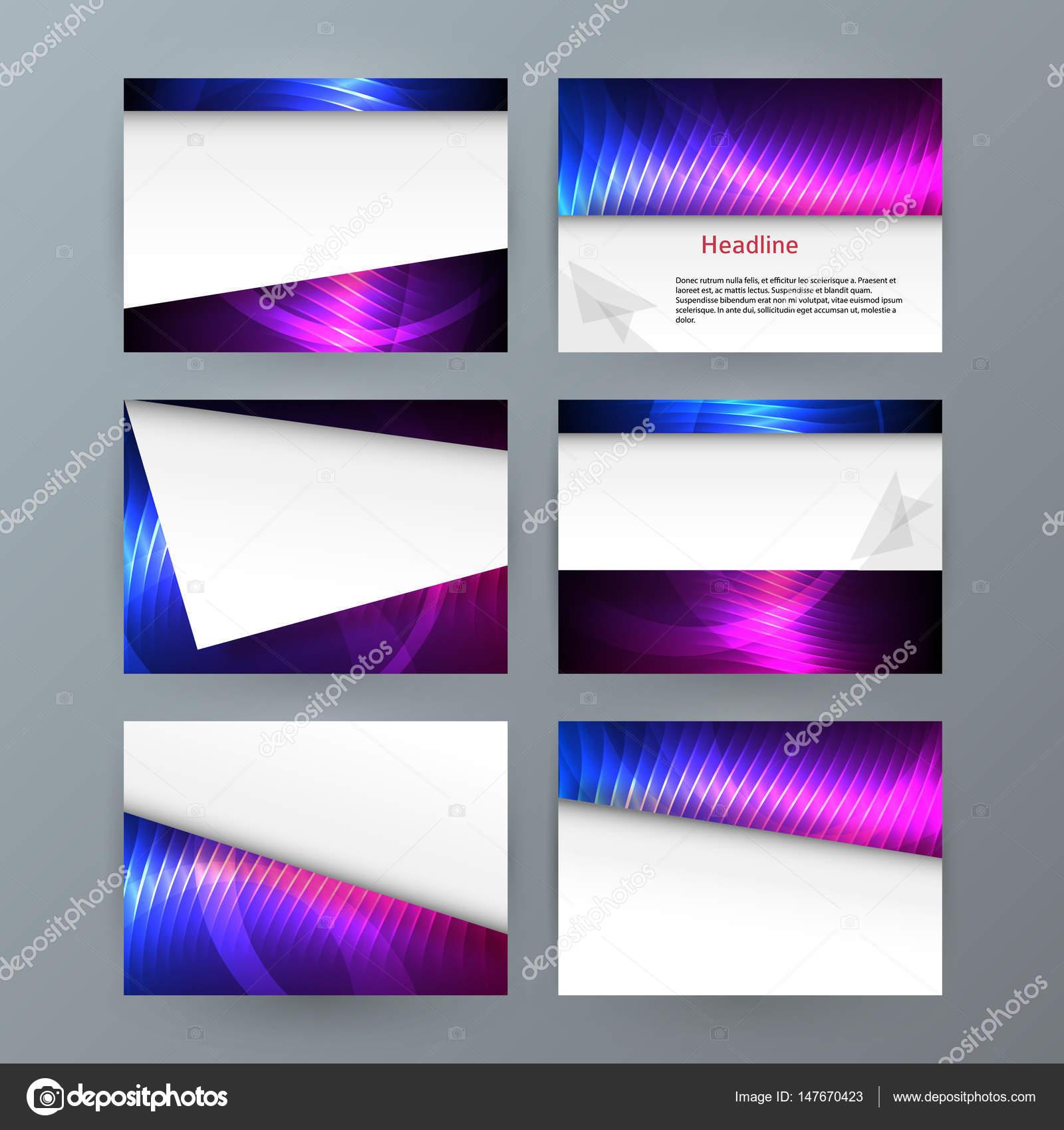 Präsentation-Vorlage Powerpoint Hintergrund Aurora boreal Neon e ...