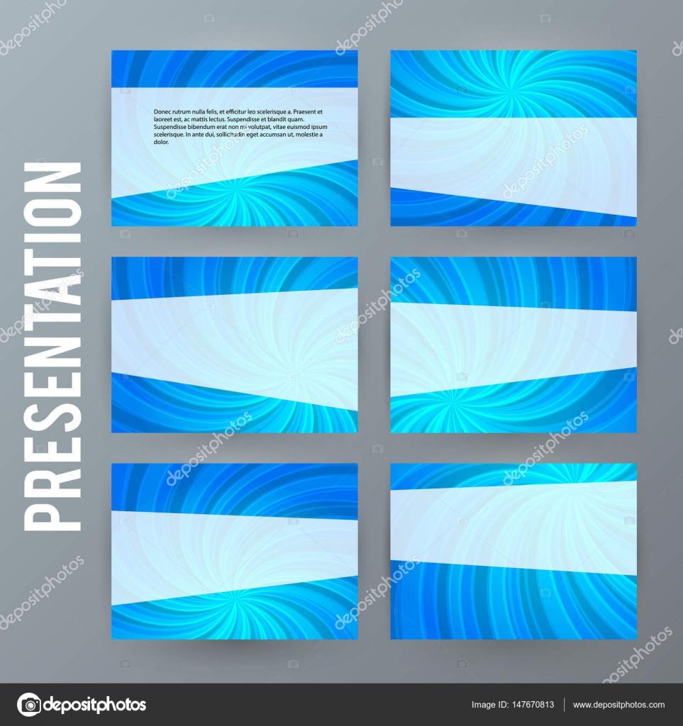 plantilla de presentacin para powerpoint fondo blue19 archivo imgenes vectoriales