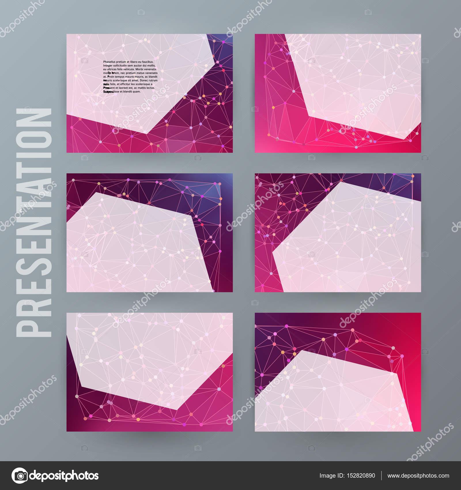 Elemento de diseño powerpoint precentation plantilla banne ...