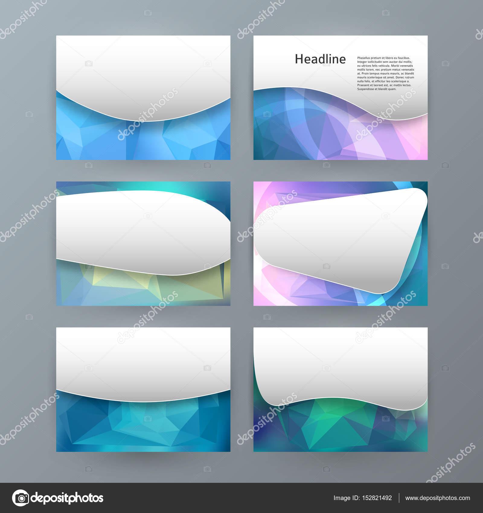 Design Element Powerpoint Precentation Vorlage horizontale banne ...