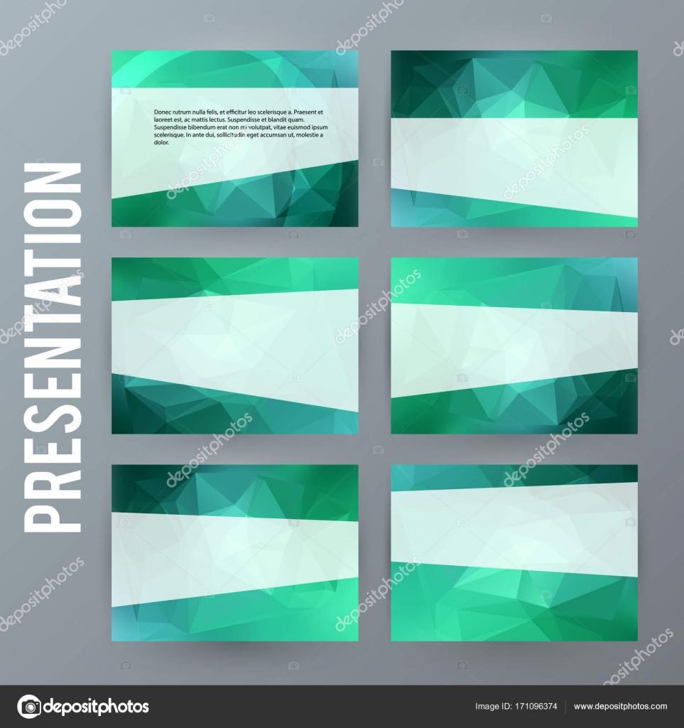 水平型バナー背景デザイン要素 powerpoint precentat — ストックベクター