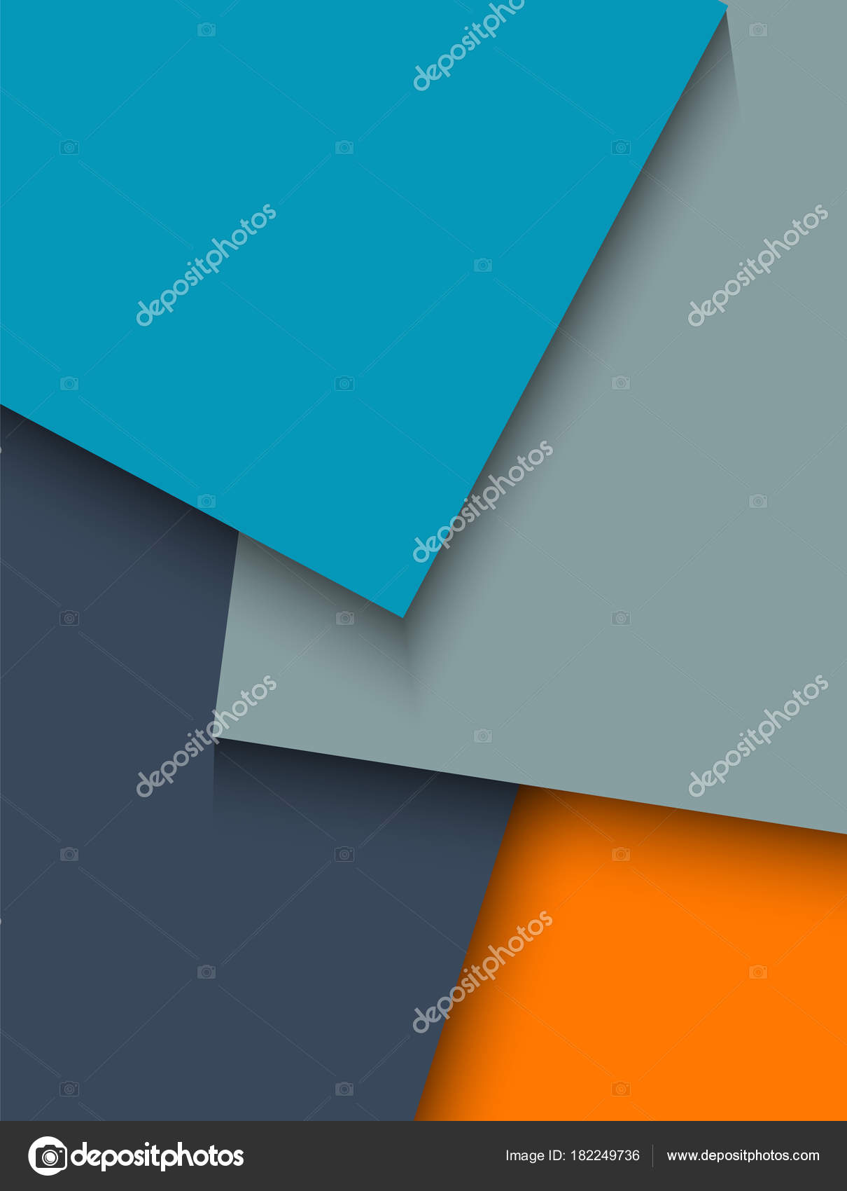 design element background effect overlaps colored sheets paper08 ...