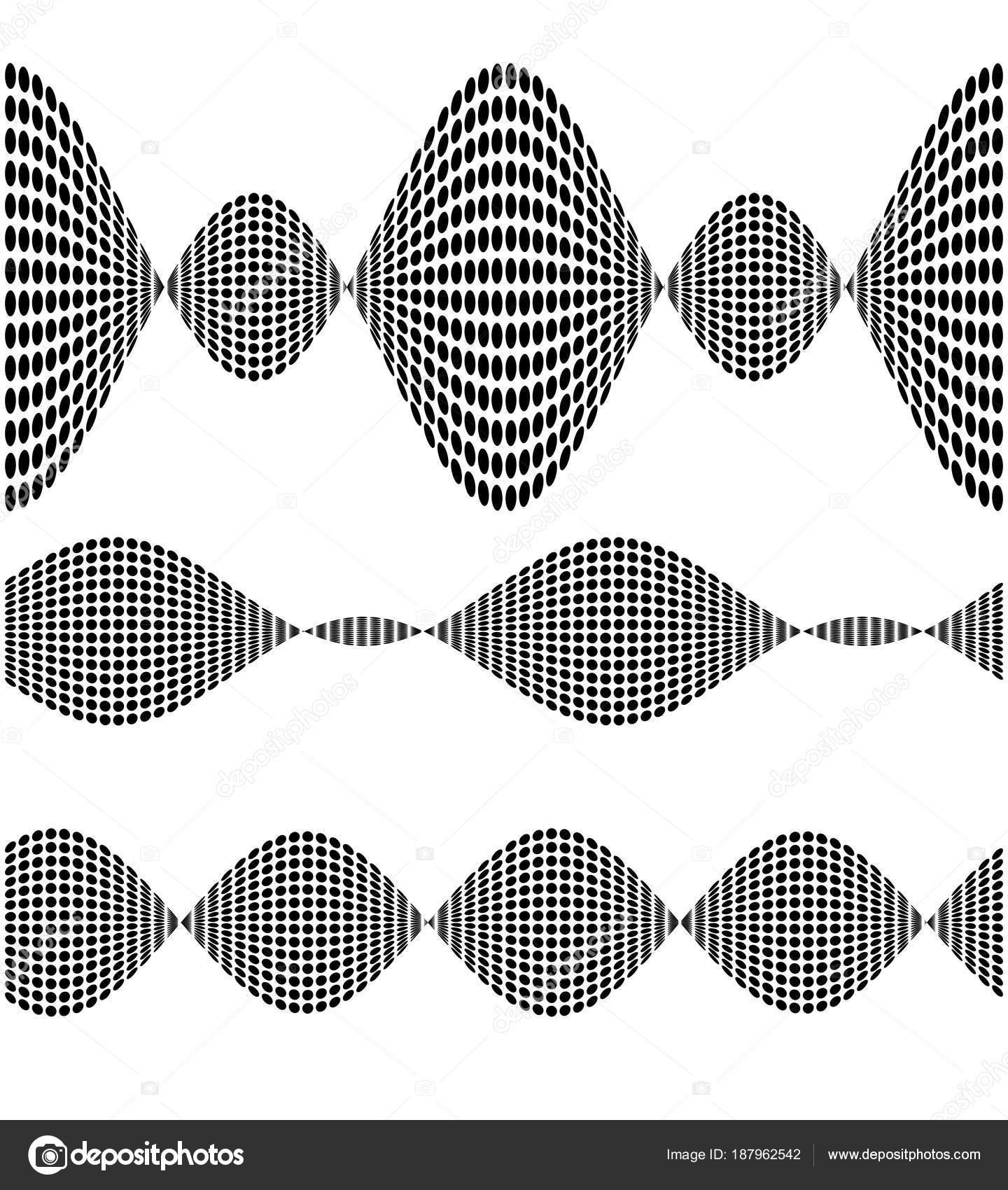tool brush set random gray pixel pattern for design element09 ...