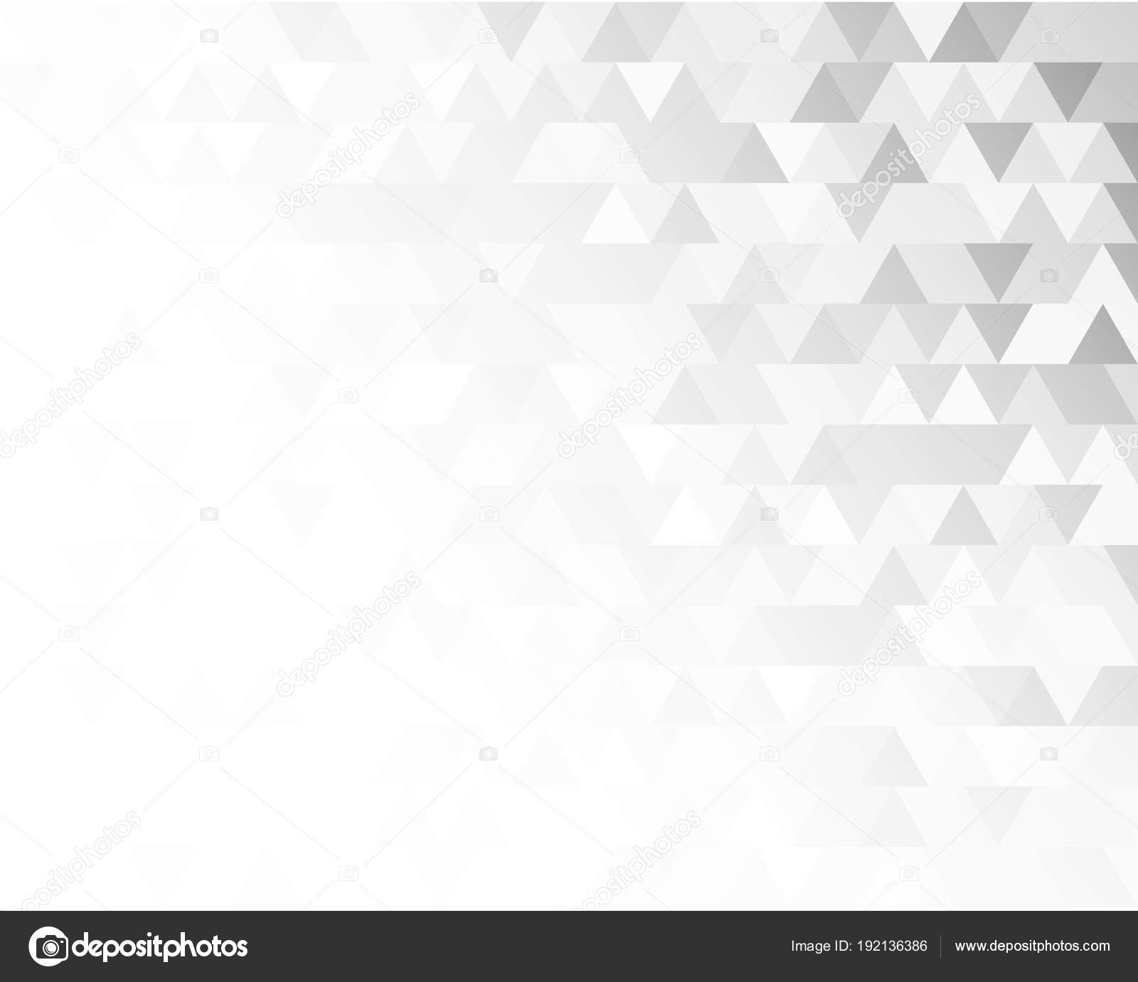 Triangolo Mosaico Nero Sfondo Sfumato Bianco Design Elements1