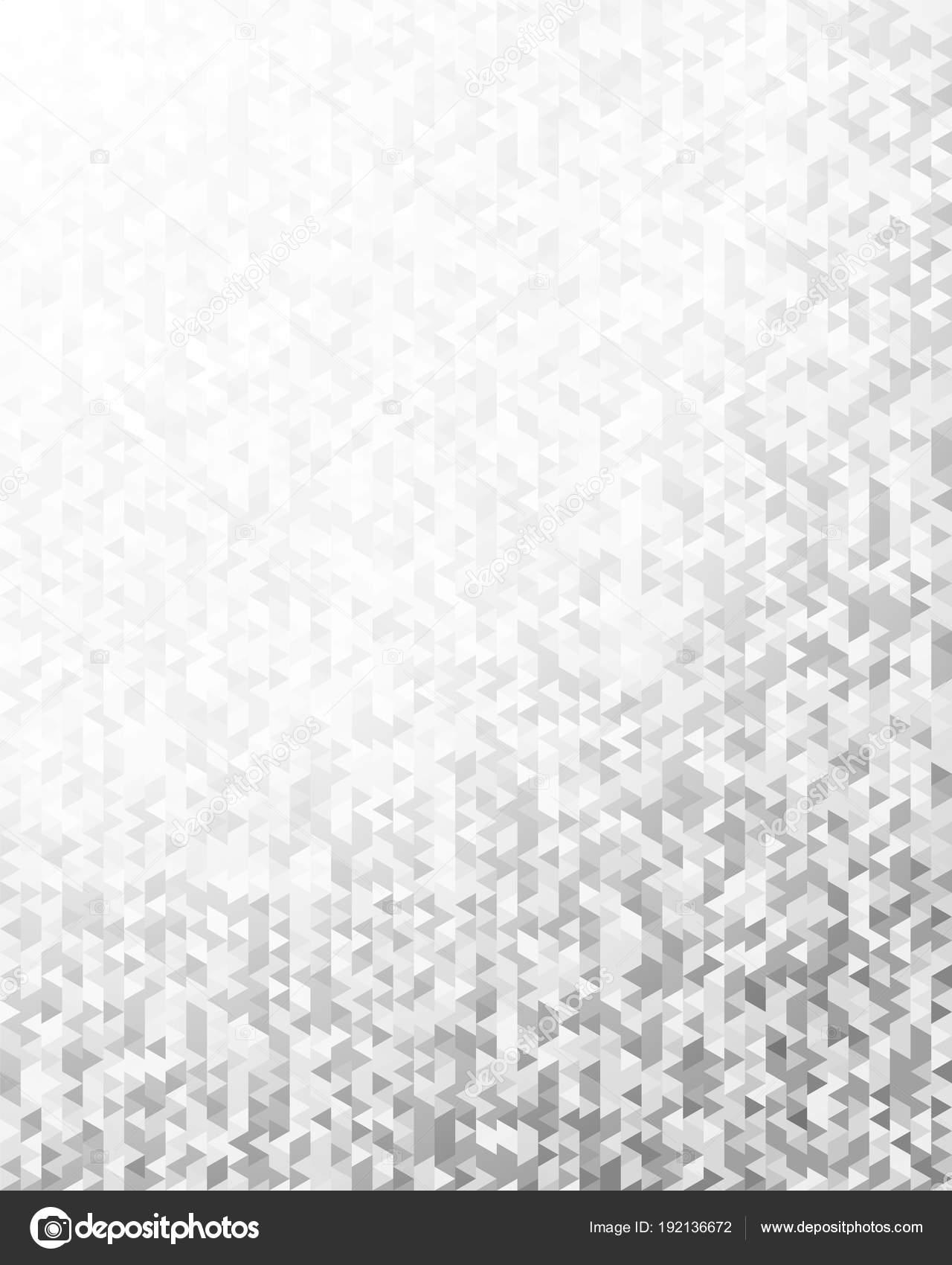 Triangolo Mosaico Nero Sfondo Sfumato Bianco Design Elements2