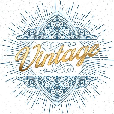 vintage decorative design
