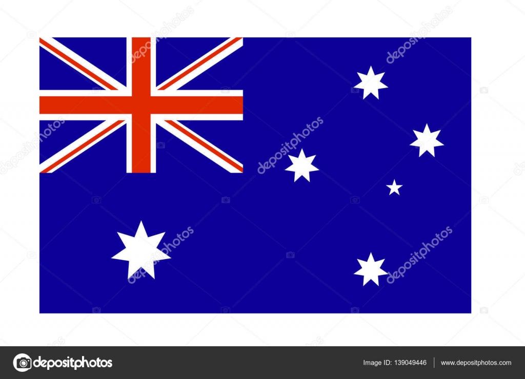 Vektör Avustralya Bayrağı Stok Vektör Arybickii 139049446