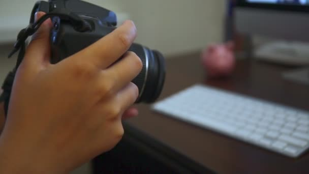 Fotograf aufnehmen eines Bildes