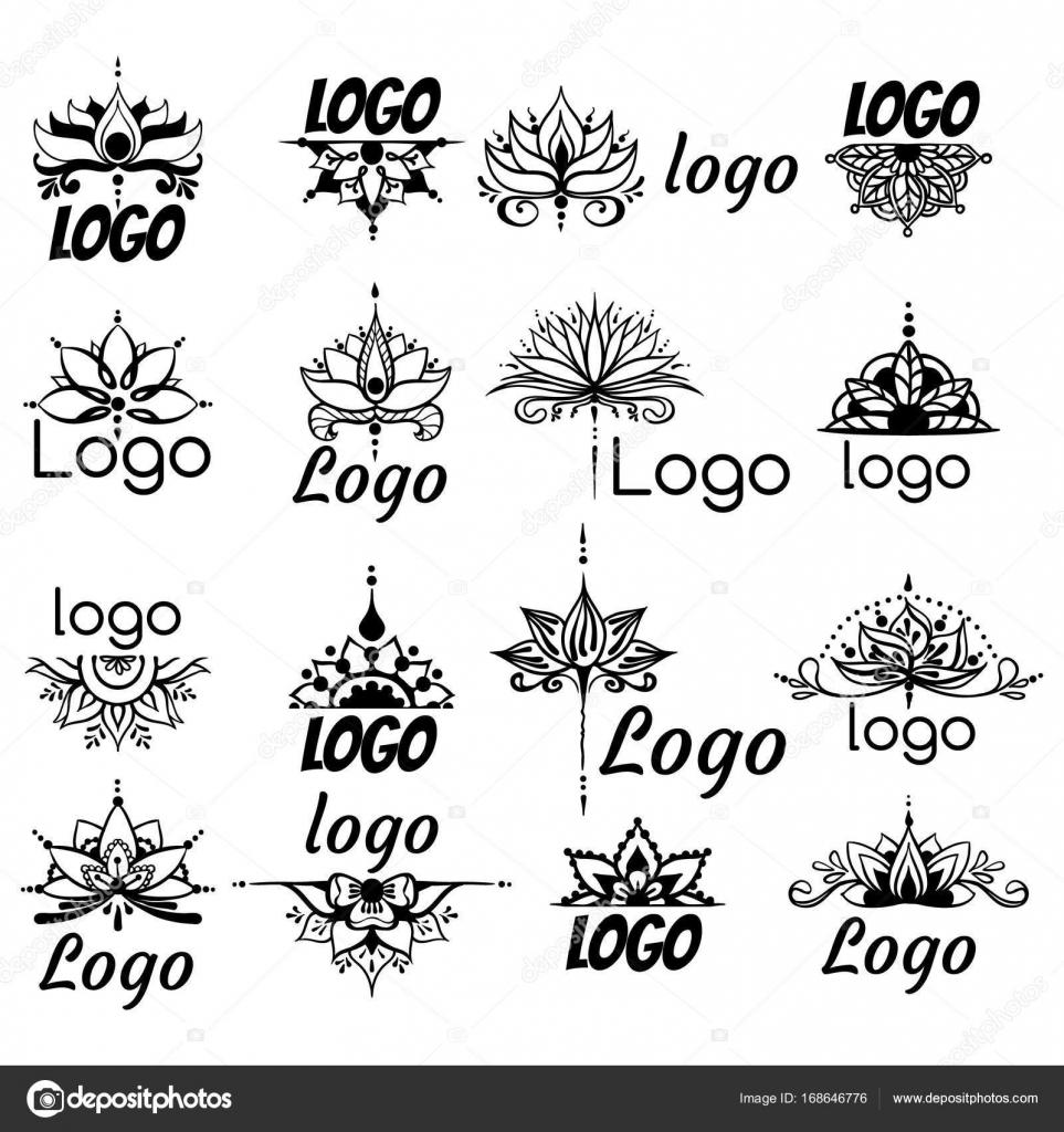 Imágenes Logo Para Dibujar Dibujo A Mano Alzada Del Logotipo De