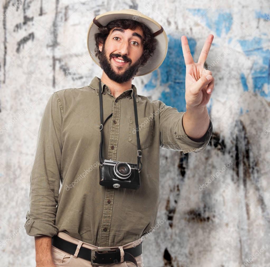 Adult Jungle Safari Explorer Costumer Mens Zoo Keep Fancy Dress ...