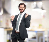 Fotografie happy businessman dancing