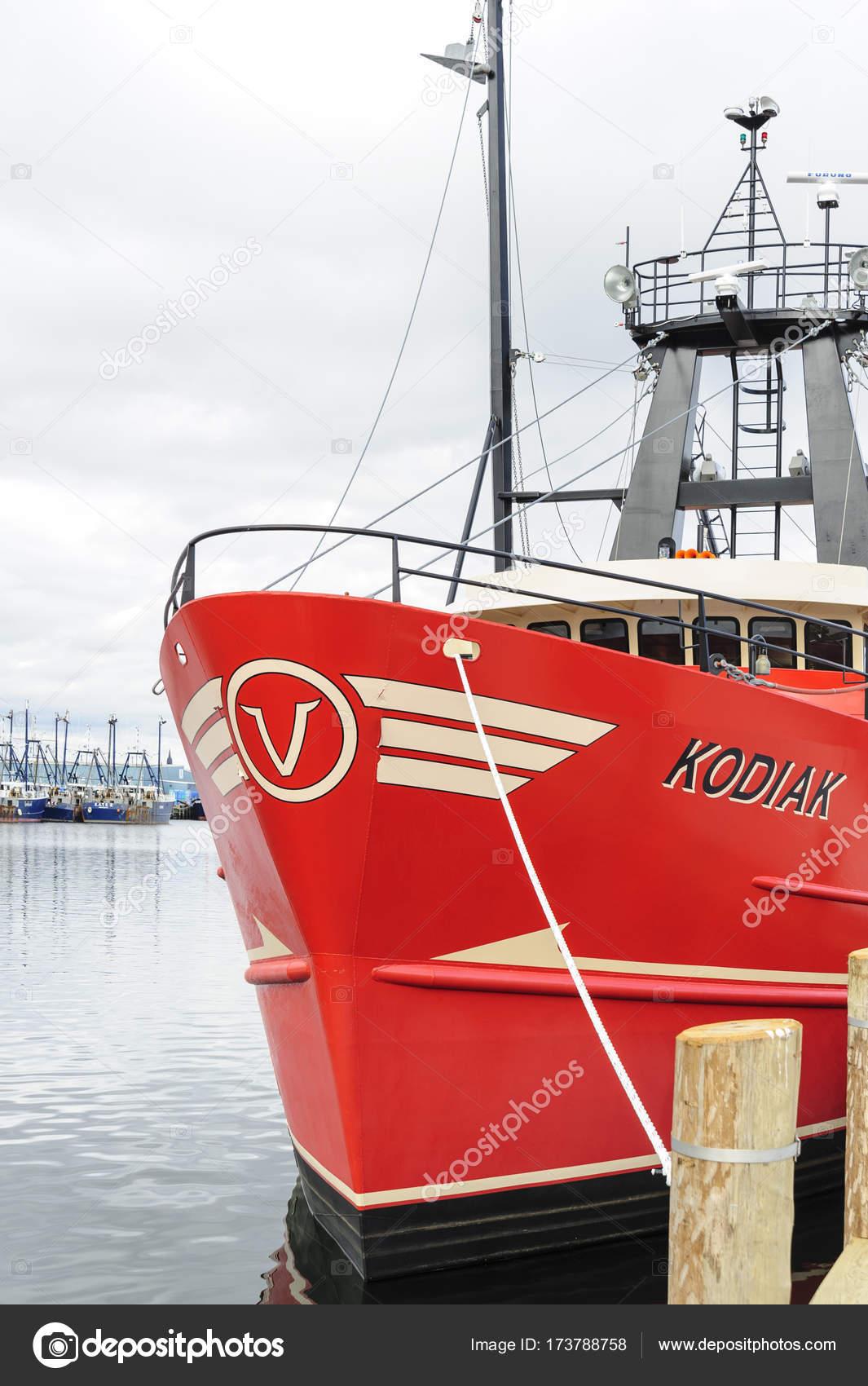 Commercial fishing vessel kodiak stock photo vinoverde for Mass commercial fishing license