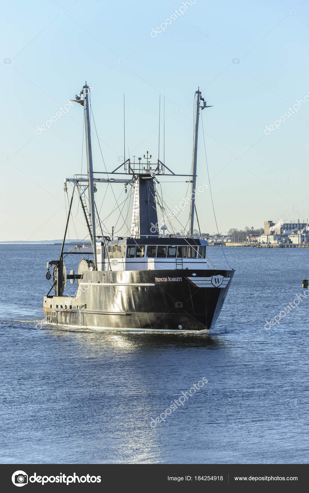 Commercial fishing boat Princess Scarlett, hailing port Cape