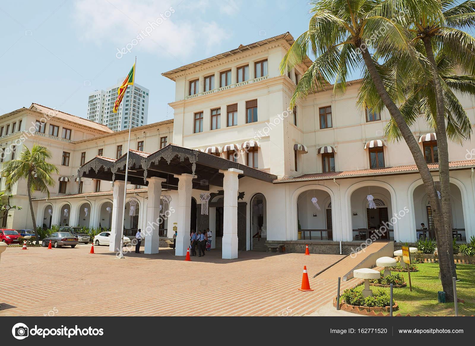 Ceylon Intercontinental Hotel Colonial Building In Colombo Sri
