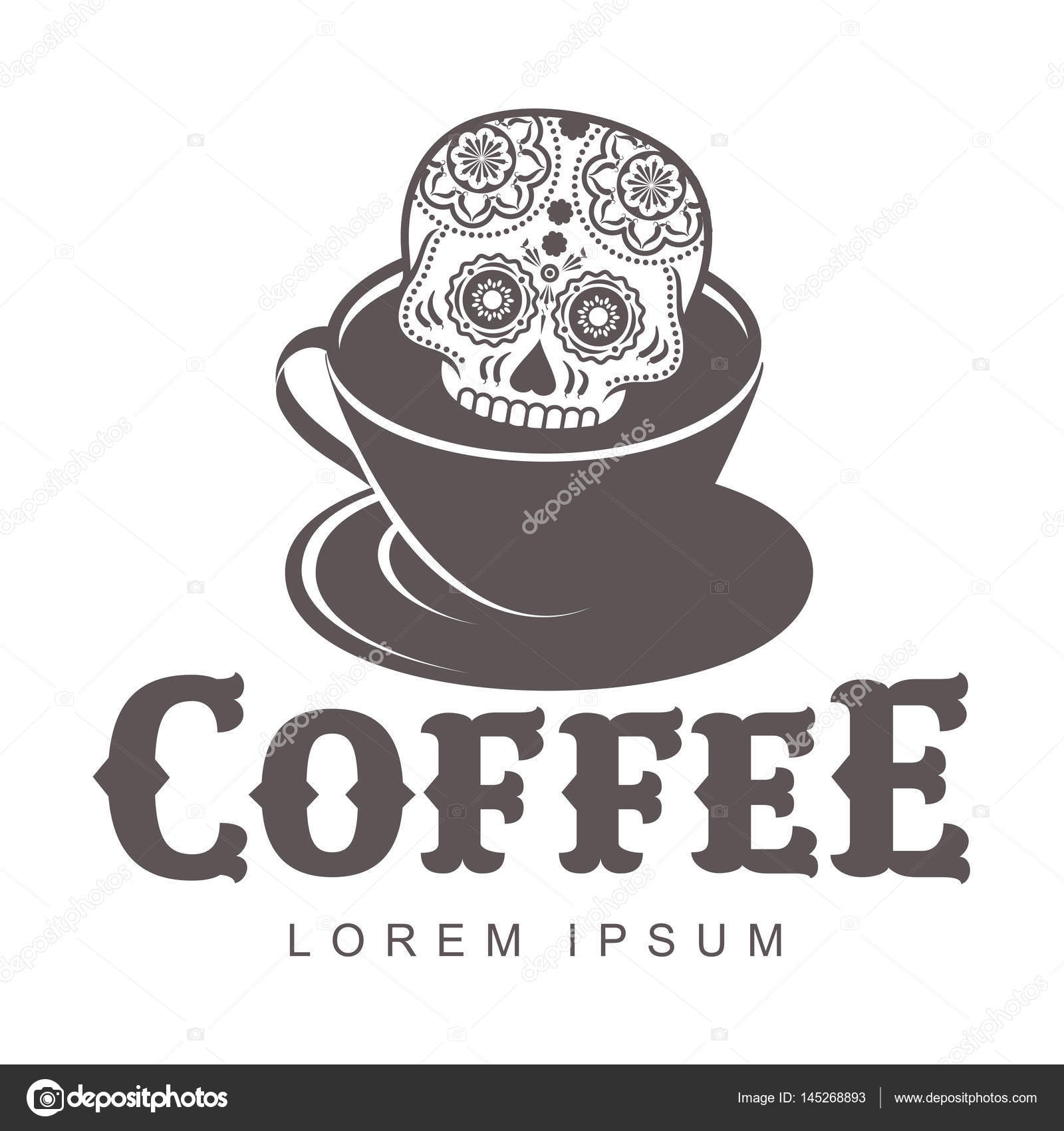 Kaffee-Logo-Vorlagen — Stockvektor © samorodinov #145268893