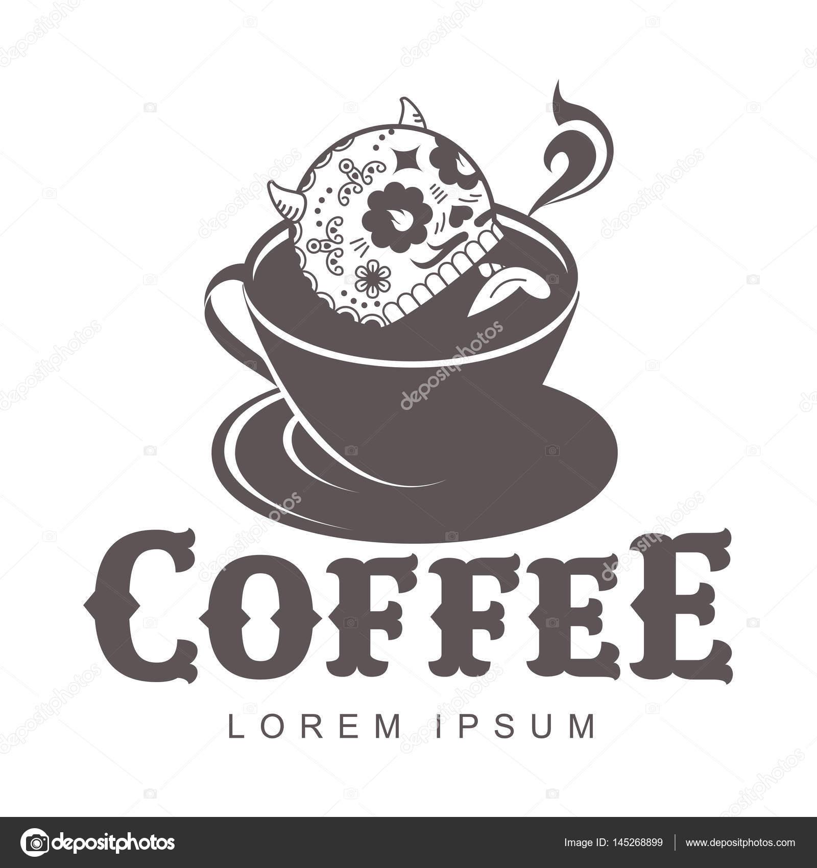 Kaffee-Logo-Vorlagen — Stockvektor © samorodinov #145268899