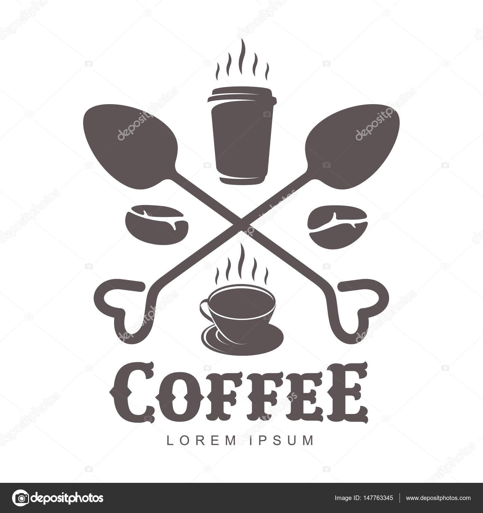 Kaffee-Logo-Vorlagen — Stockvektor © samorodinov #147763345