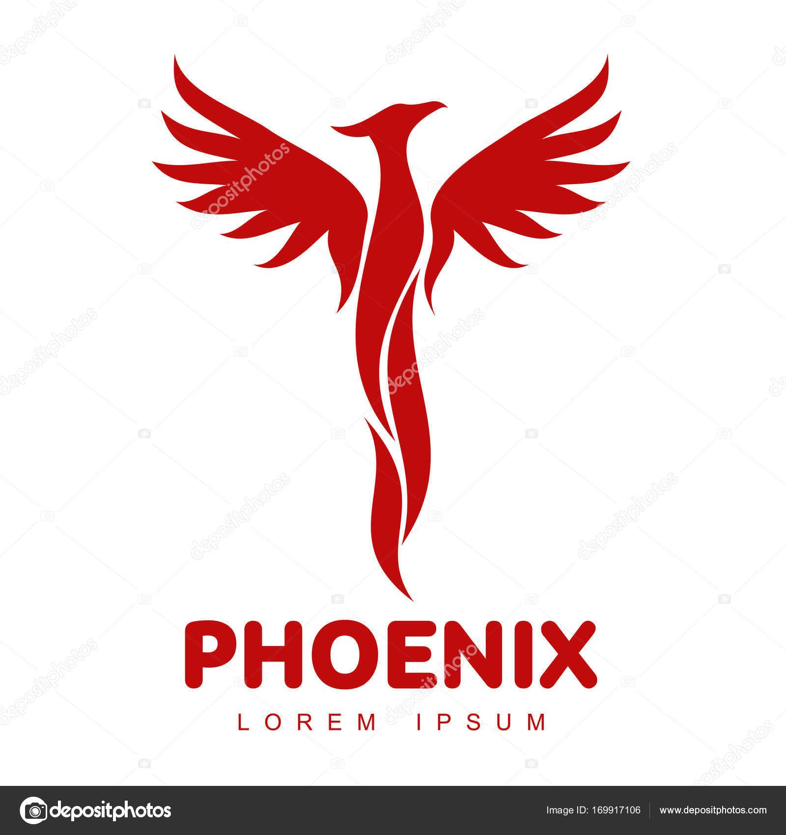 Áˆ Logo Falcon Stock Pictures Royalty Free Phoenix Bird Logo Images Download On Depositphotos