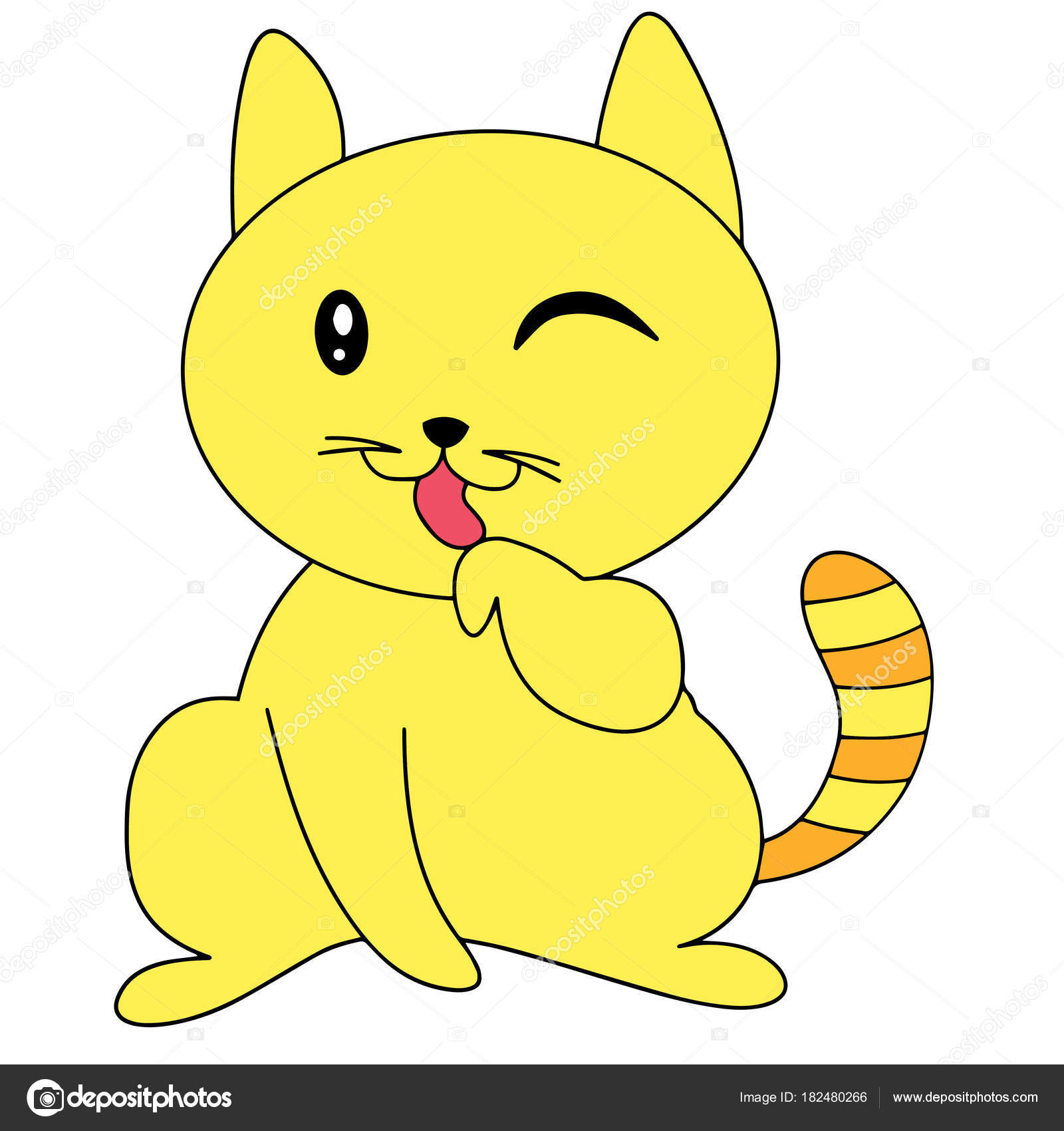 Dibujos Gato Dibujo Infantil Color Impresiones Dibujos Animados