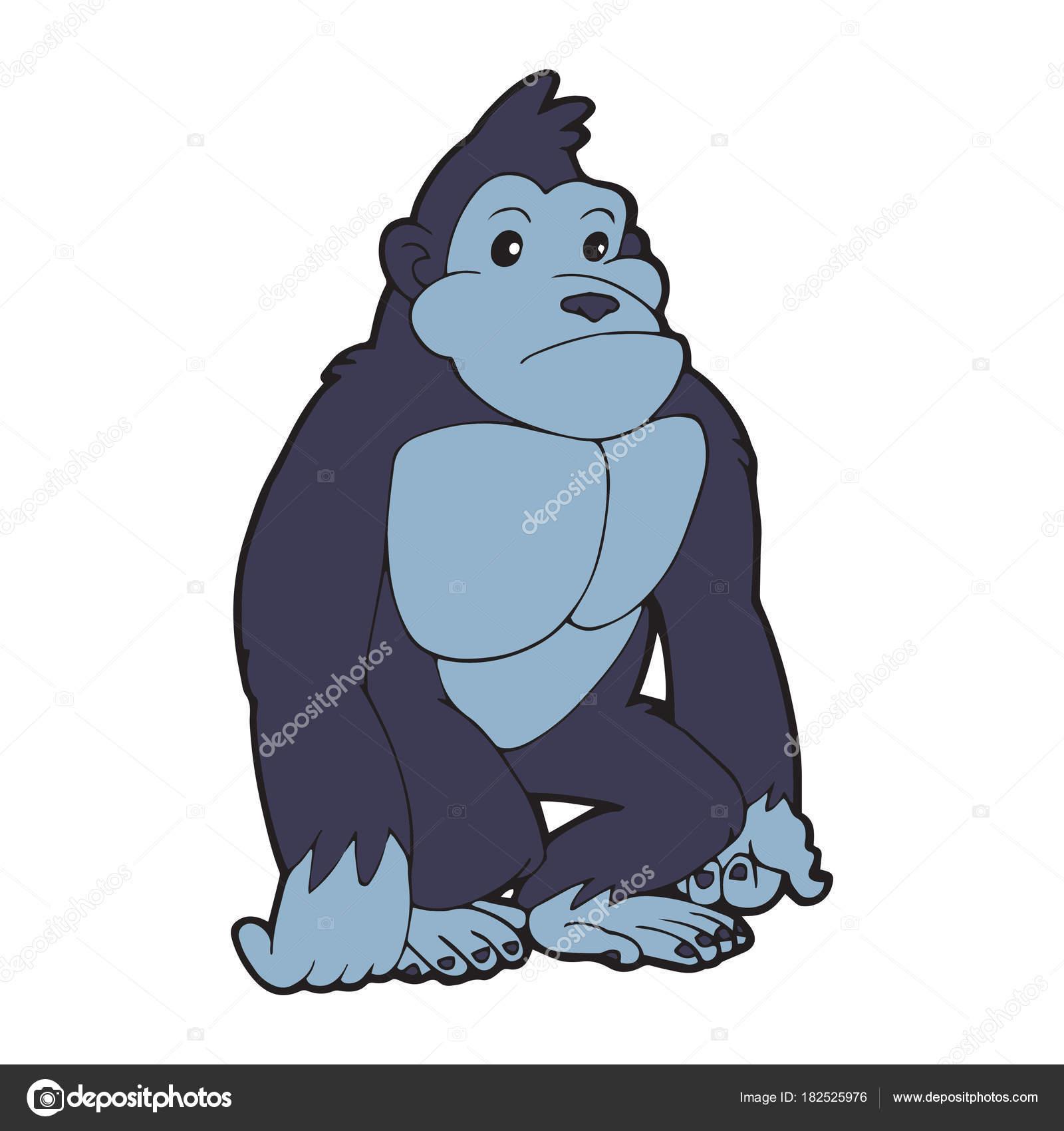 mejor servicio c8672 18331 Foto: ganja gorila | Impresiones Gorila Dibujos Animados ...