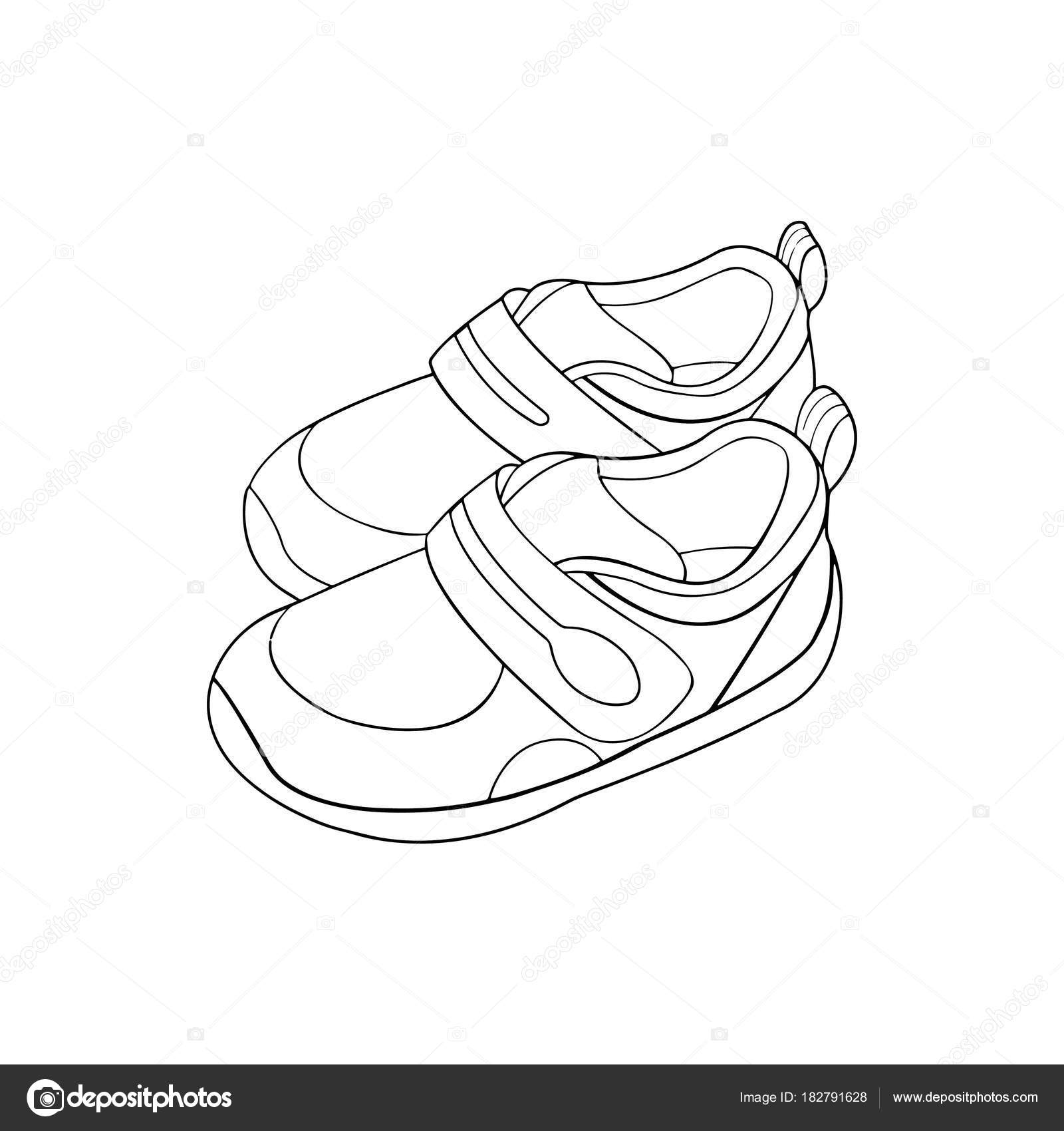 Imágenes Zapatos Animadas Para Colorear Impresiones Zapatos