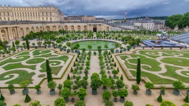 Famoso Palacio De Versalles Con Hermosos Jardines Timelapse Videos
