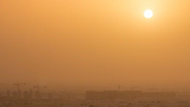 Letecký pohled na Aspire Zone od východu slunce v Dauhá