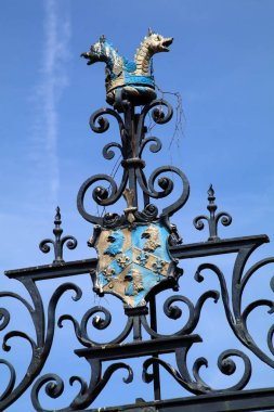 Oxford university coat of arms
