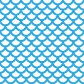 vzor modrá ryba