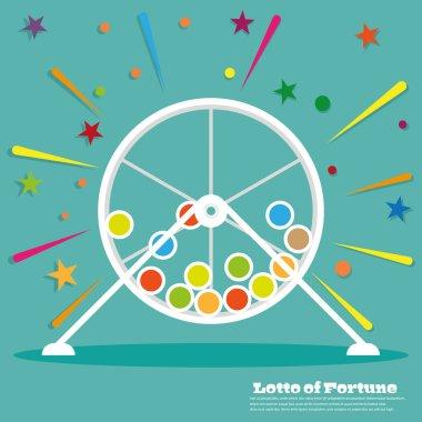 Lottery  wheel icon