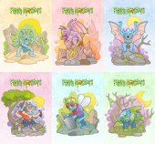 monsters set of images