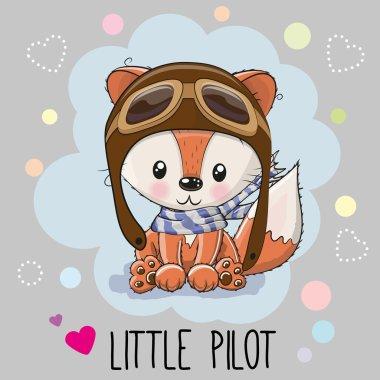 Cute cartoon Fox