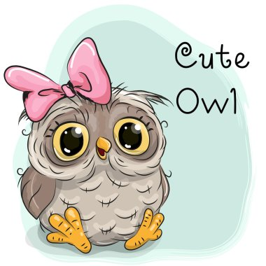 Cute Drawing owl