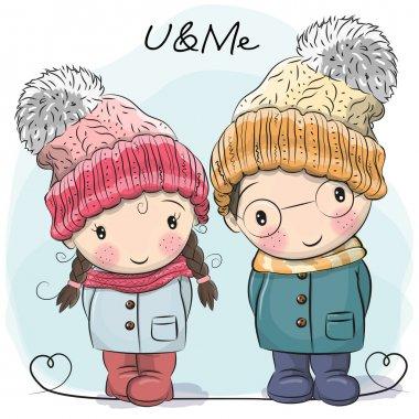 Cute Boy and Girl