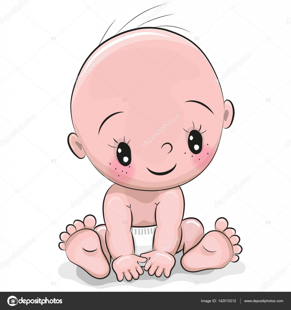 cute cartoon baby boy � stock vector 169 reginast777 142010212