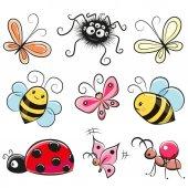 Fotografia insetti del fumetto sveglio