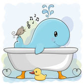 Fotografia Balena in bagno