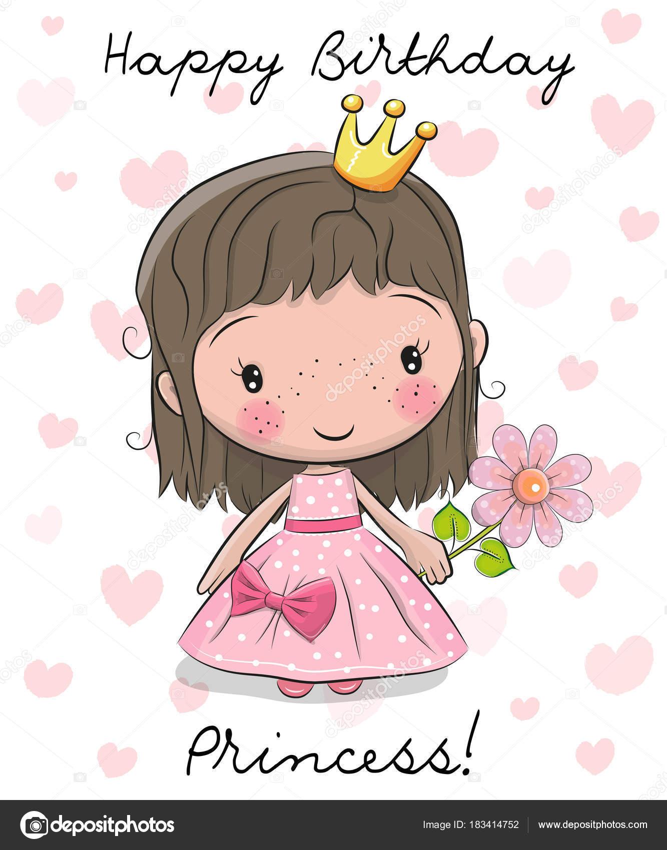 Carte Anniversaire Petite Fille