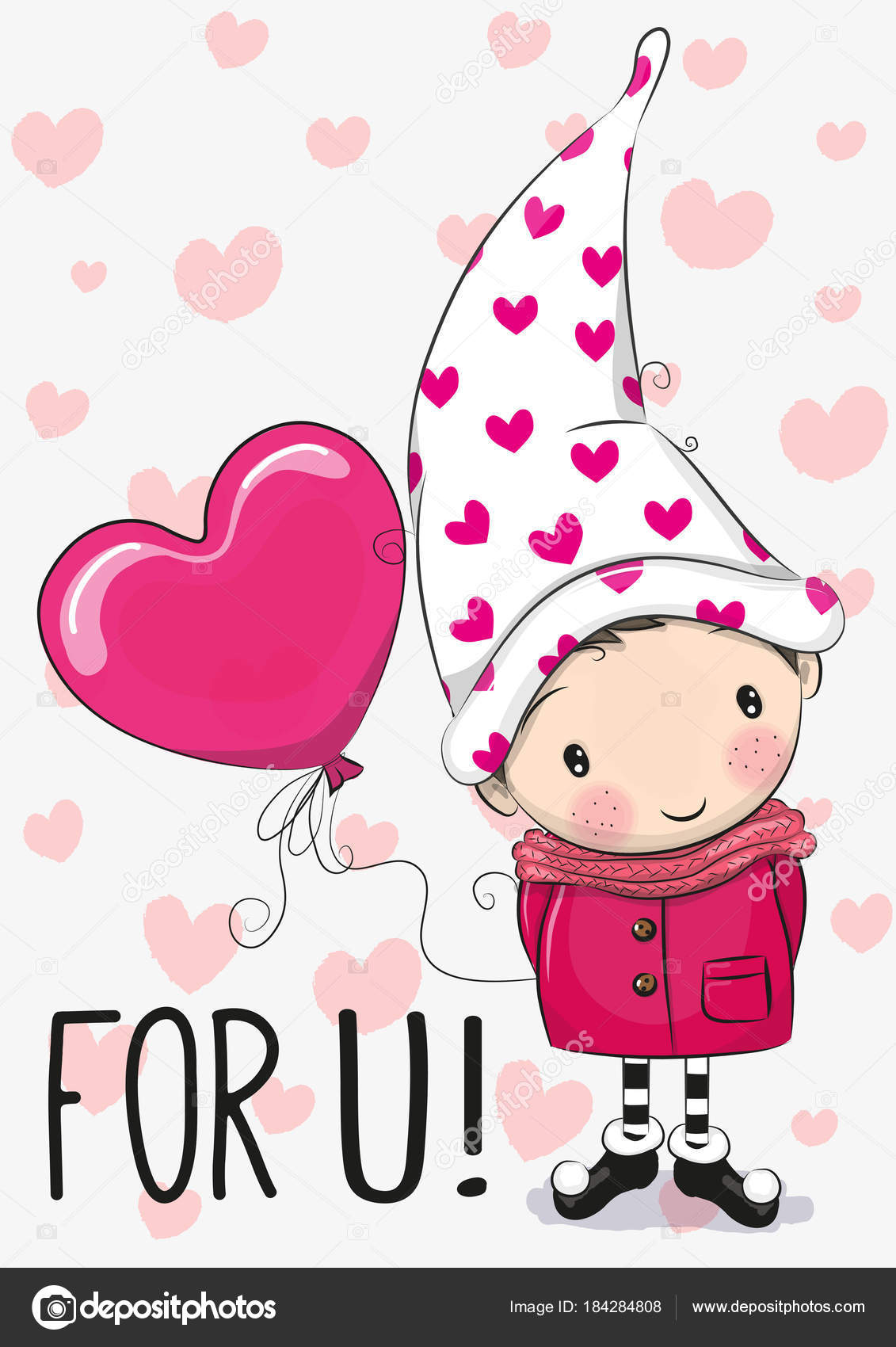 Cute Gnome Clipart