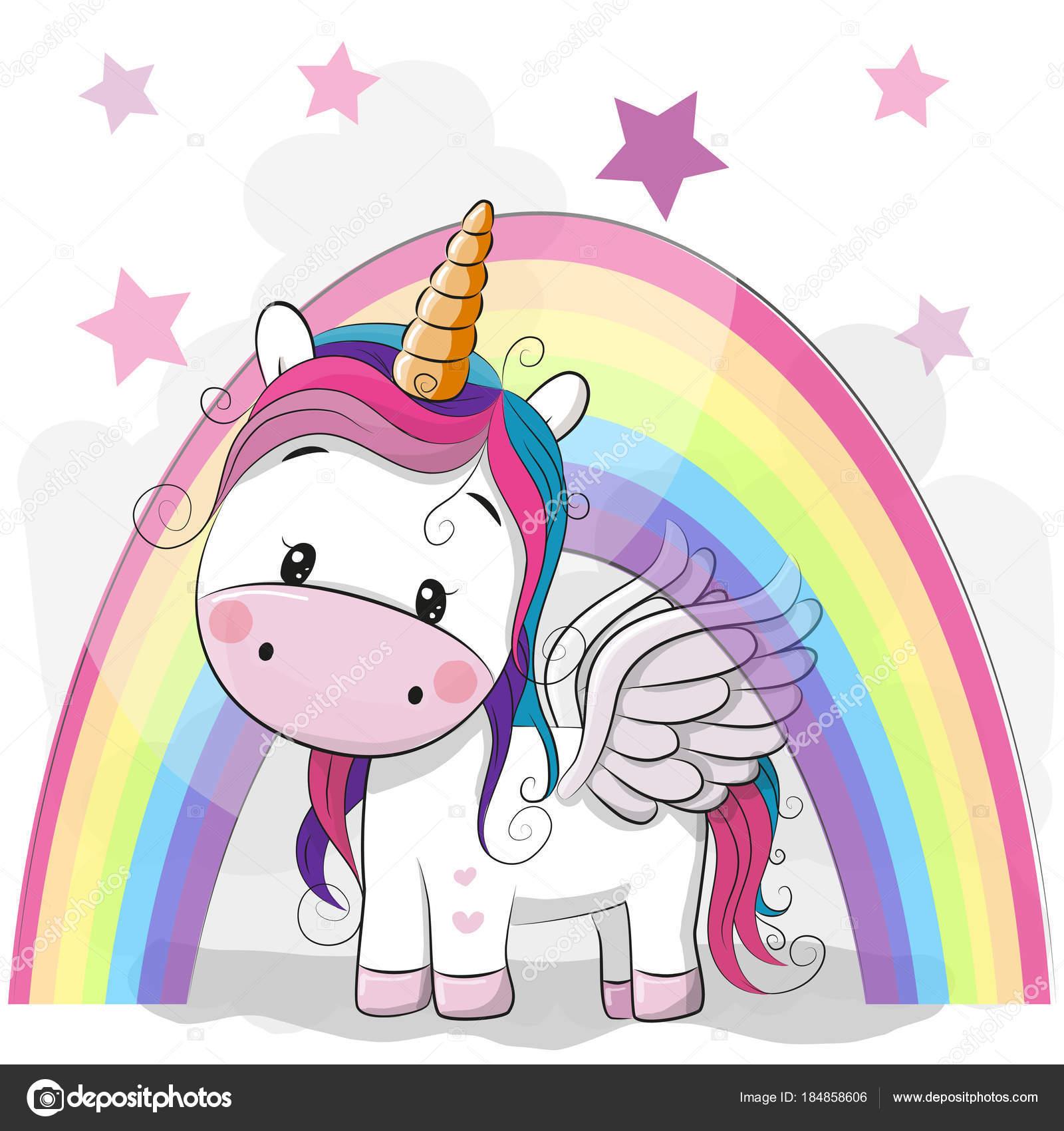 Áˆ Unicorns Cartoon Stock Backgrounds Royalty Free Unicorn Illustrations Download On Depositphotos