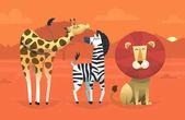 Fényképek Barátságos trópusi állatok