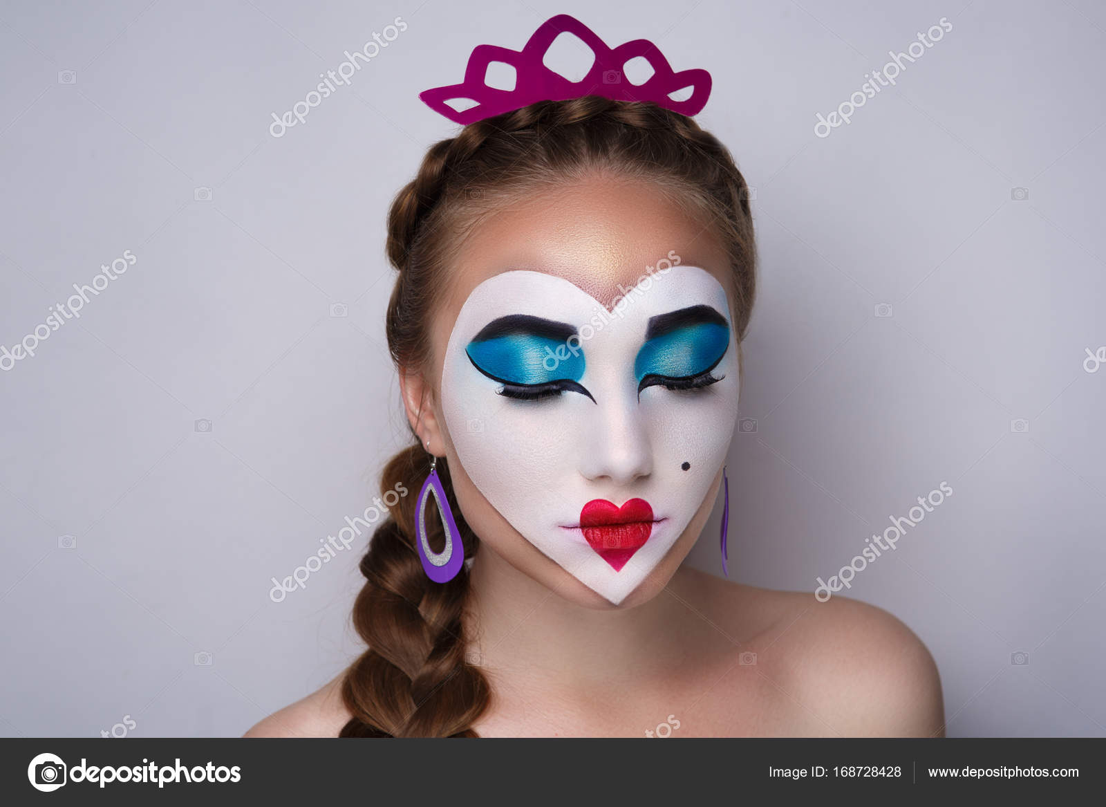 Pictures : queen of hearts art | The queen of hearts art make up ...