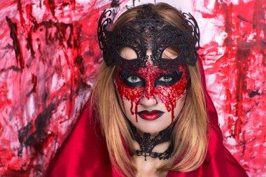 Halloween art make up